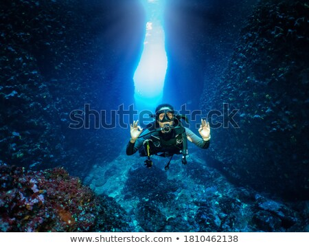 happy divers stock photo © adrenalina