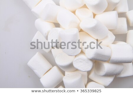 white marschmallows texture stock photo © jonnysek