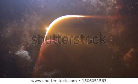 Planète lune Photo stock © Freshdmedia
