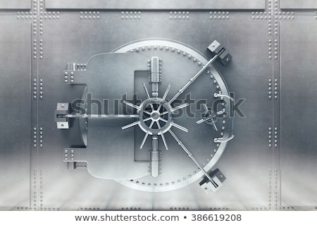 Banka kapı kapalı güvenli güvenlik Stok fotoğraf © pakete