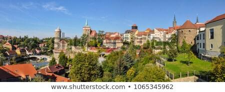 castle Ortenburg, Bautzen, Saxony, Germany Stock photo © LianeM