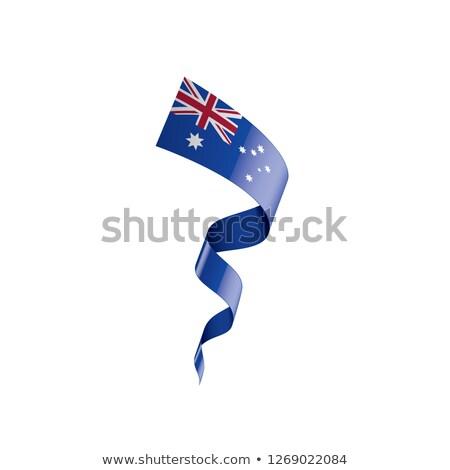 オーストラリア · フラグ · グランジ · オーストラリア人 · 画像 · 詳しい - ストックフォト © popaukropa