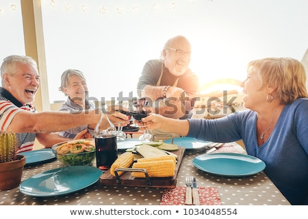 Couple having a barbecue Stock photo © IS2