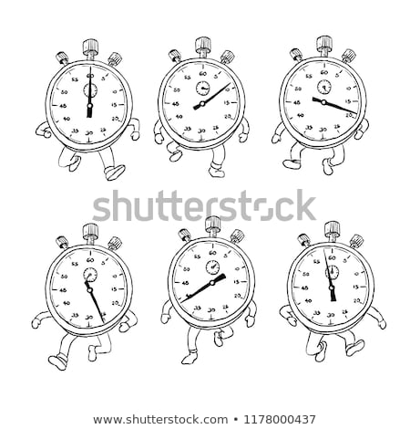 Hand Walk Cycle Sequence Drawing Stock photo © patrimonio