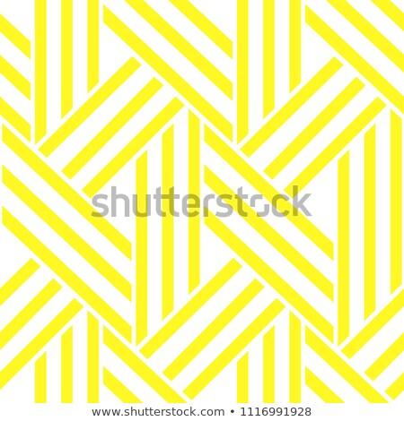 Lattice yellow simple seamless vector pattern. Stock photo © yopixart