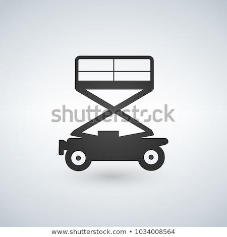engineering · voertuig · gebouw · uitrusting · vector · bouw - stockfoto © kyryloff