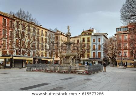 Plaza Bib Rambla, Granada, Spain Stock photo © borisb17