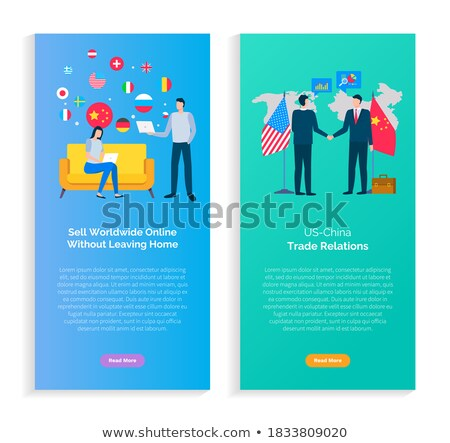 Delivery Booklet, Sell Worldwide Online Vector Stock photo © robuart