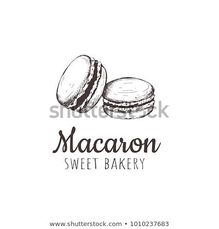 実例 マカロン 女性 手 チョコレート ギフト ストックフォト © adrenalina