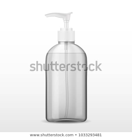 hand soap with pumping lotion from bottle  Stock photo © Lopolo