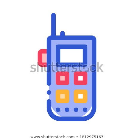 Climbing Gps Assistant Device Alpinism Vector Icon Stock photo © pikepicture