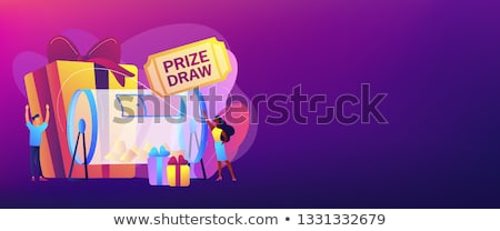 Prize draw concept banner header. Stock photo © RAStudio