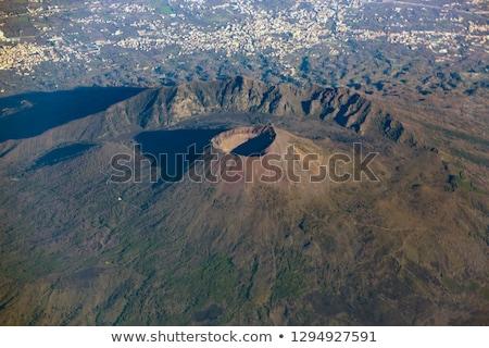 The Gulf of Naples with Mount Vesuvius Stock photo © elxeneize