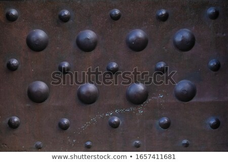 Old iron doorknob Stock photo © nuttakit