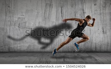 sayılar · son · yarış · doku · spor · egzersiz - stok fotoğraf © pressmaster