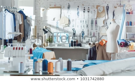 fashion designer Stock photo © illustrart