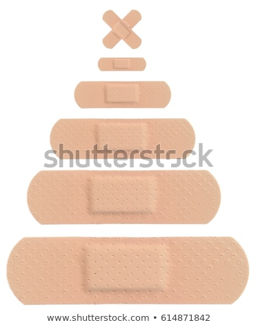Christmas tree with AIDS icons Stock photo © cienpies