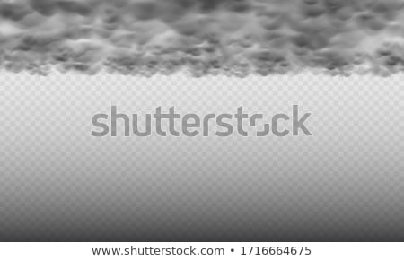 Stock photo: Gloomy clouds
