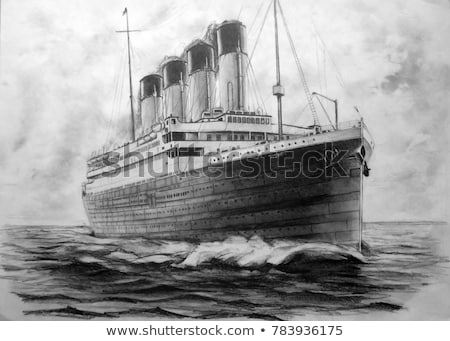 Stock photo: Titanic