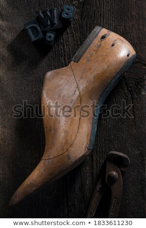 Cipők divat afrika bolt piac szín Stock fotó © LianeM