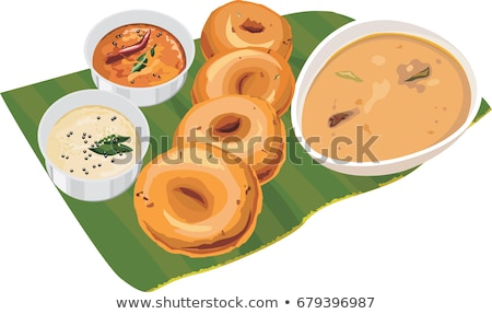 zuiden · indian · plaat · lunch · banaan · blad - stockfoto © mnsanthoshkumar