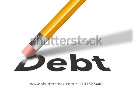 Foto stock: Erasing Bankruptcy