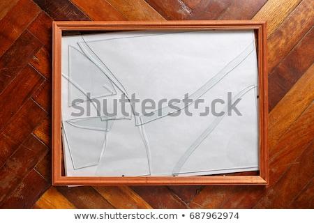 broken frame Stock photo © sirylok