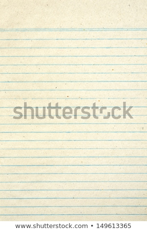 Old notebook page lined paper. Stock photo © latent