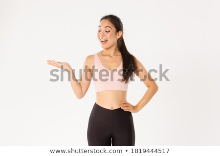 slim female showing her body stock photo © stockyimages