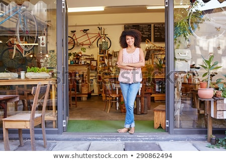 Full length shot of an entrepreneur Stock photo © stockyimages