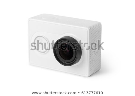 Standard zoom lens isolated on white background Stock photo © kawing921