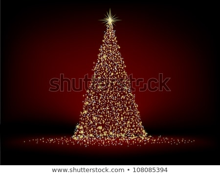 Elegant gold christmas background. EPS 8 Stock photo © beholdereye