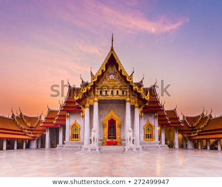 Wat Benjamaborphit, temple in Bangkok, Thailand  Stock photo © jakgree_inkliang