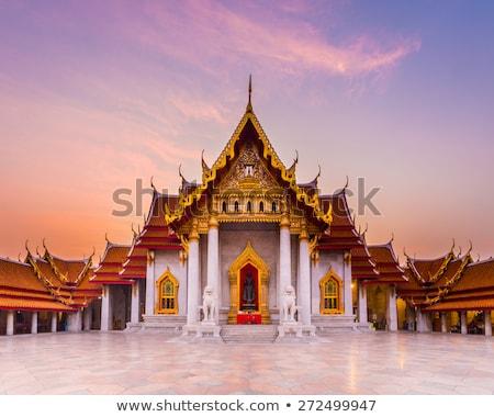 Tempel Bangkok Thailand thai gebouw architectuur Stockfoto © jakgree_inkliang