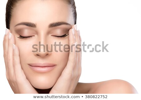 flawless complexion Stock photo © godfer