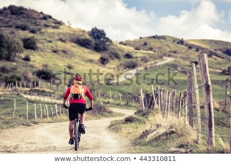 ciclismo · cidade · imagem · homem · equitação · bicicleta - foto stock © photography33
