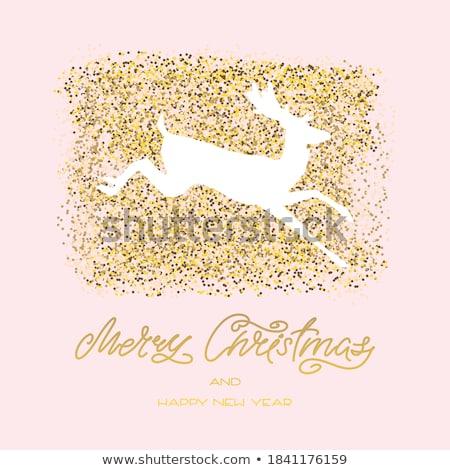 エレガントな · クリスマス · 抽象的な · eps · ベクトル - ストックフォト © beholdereye