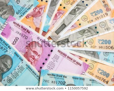 Indian rupee Stock photo © pazham