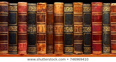 книга старые комнату полу дома текстуры Сток-фото © CarmenSteiner