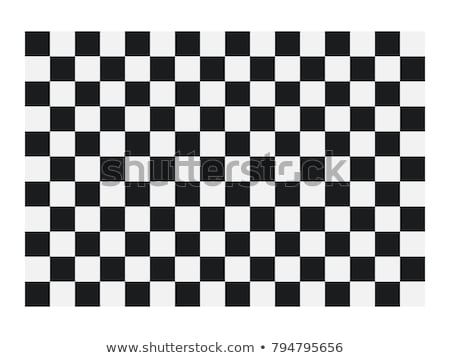 Schaken schaakbord tunnel 3D kubus schaakbord Stockfoto © ankarb