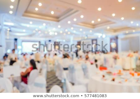 chinese banquet wedding table stock photo © szefei