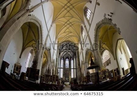 Interni chiesa Slovacchia costruzione architettura Europa Foto d'archivio © phbcz