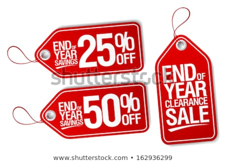 Vector Sale Tags Stock photo © REDPIXEL