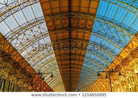 Train Platform Cellular Abstract Stock photo © eldadcarin
