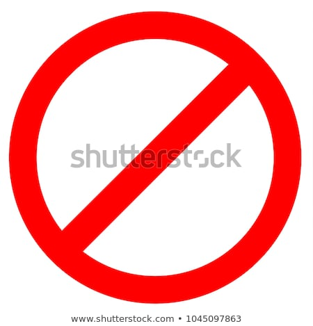 Prohibition icon Stock photo © zzve