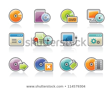 Stockfoto: Software Install And Uninstall Icons