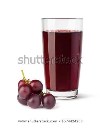 白 · ワイングラス · 新鮮な · ブドウ · フルーツ - ストックフォト © m-studio