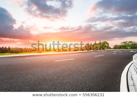 road and beautiful sky  Stock photo © saddako2