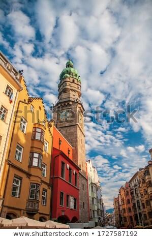 óváros · óra · torony · kilátás · és · óra - stock fotó © aladin66