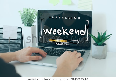 Stock photo: Weekend